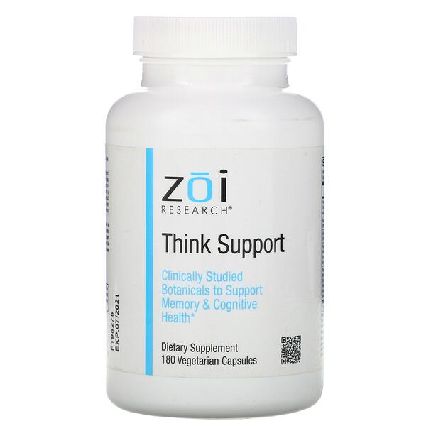 ZOI Research, Поддержка мыслительных способностей, 180вегетарианских капсул