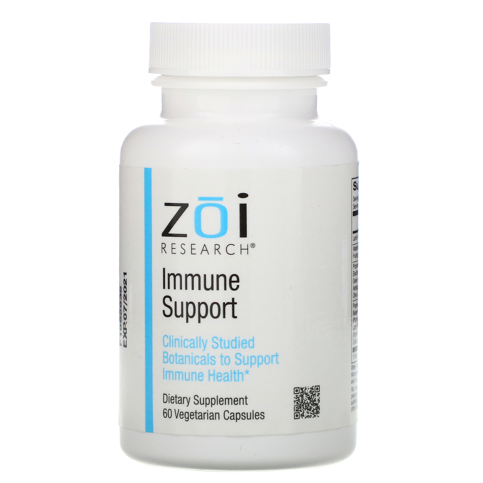 ZOI Research, Укрепление иммунитета, 60растительных капсул