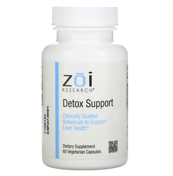 ZOI Research, Поддержка выведения токсинов, 60вегетарианских капсул