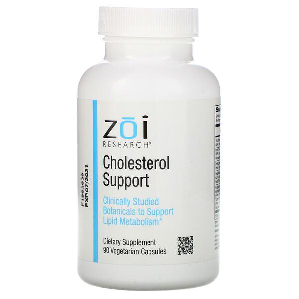 Поддержка уровня холестерина, 90растительных капсул
