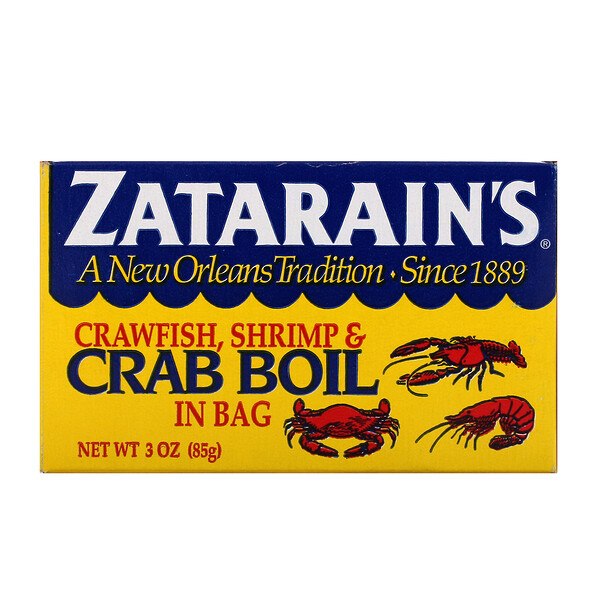 Crawfish, Shrimp, & Crab Boil in Bag, 3 oz (85 g)